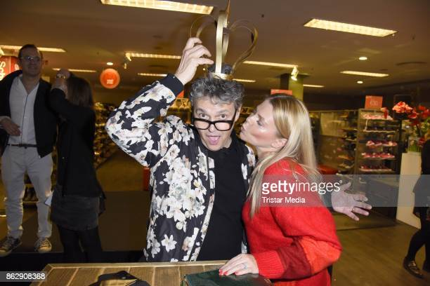 Rolf Scheider and AnneSophie Briest attend the TK Maxx 10th anniversary celebration on October 18 2017 in Berlin Germany
