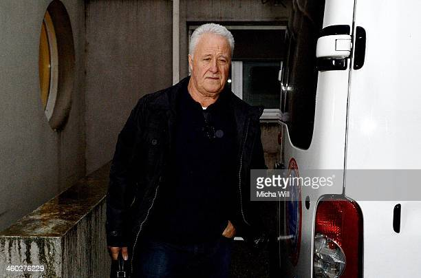 Rolf Schumacher, father of Michael Schumacher arrives at Grenoble University Hospital Centre where his son, the former German Formula One driver...