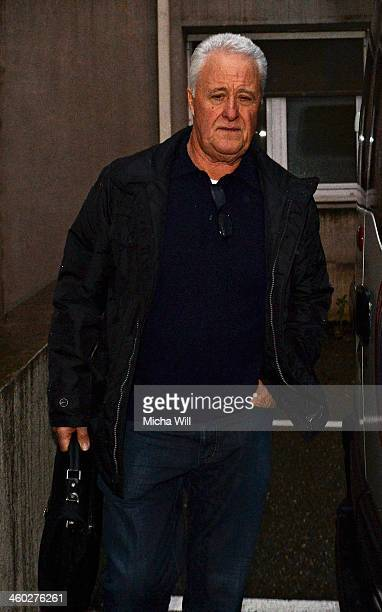Rolf Schumacher father of Michael Schumacher arrives at the Grenoble University Hospital Centre where his son the former German Formula One driver...