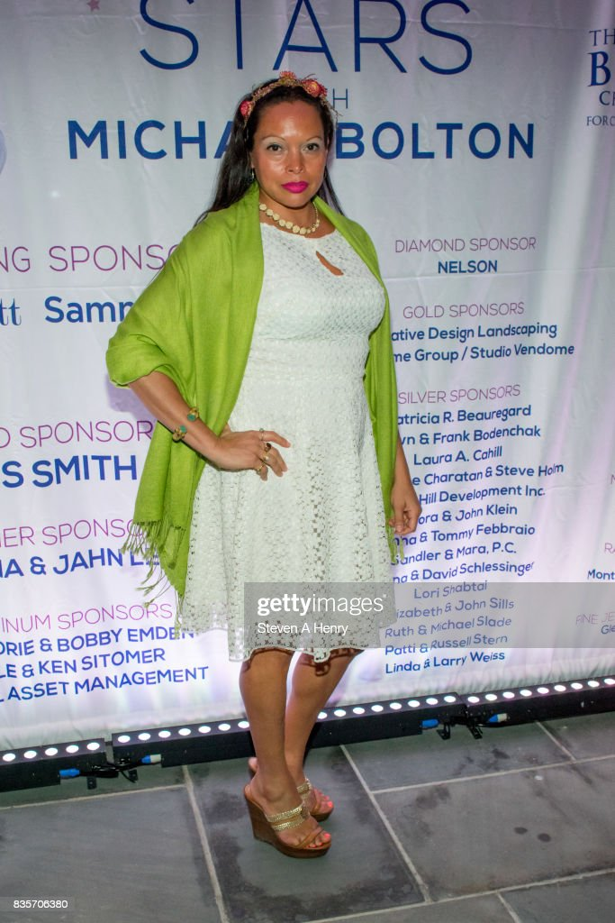 Rolise Rachel attends An Intimate Evening Under The Stars With Michael Bolton at Private Residence on August 19, 2017 in Bridgehampton, New York.