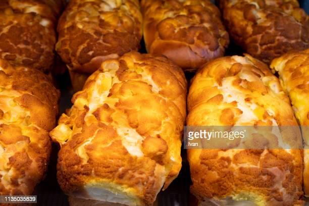 A Roll of Asian Sweet Pineapple Bun, Bread