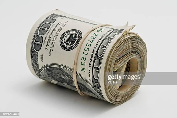 Roll of cash.