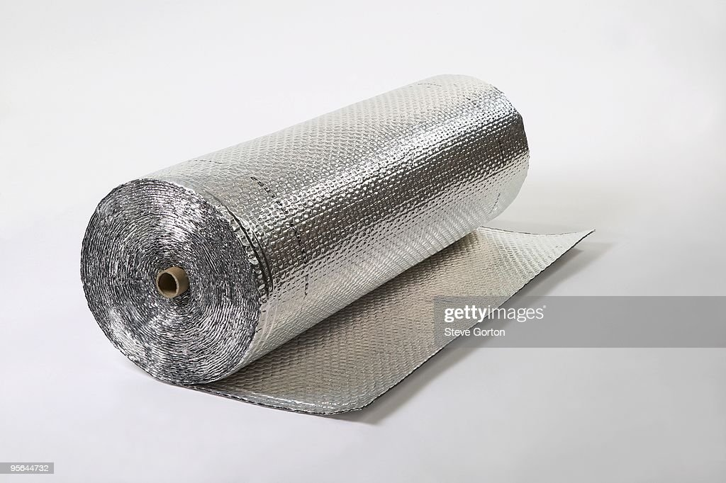 Roll Of Heat Insulation Foil Stock Photo Getty Images
