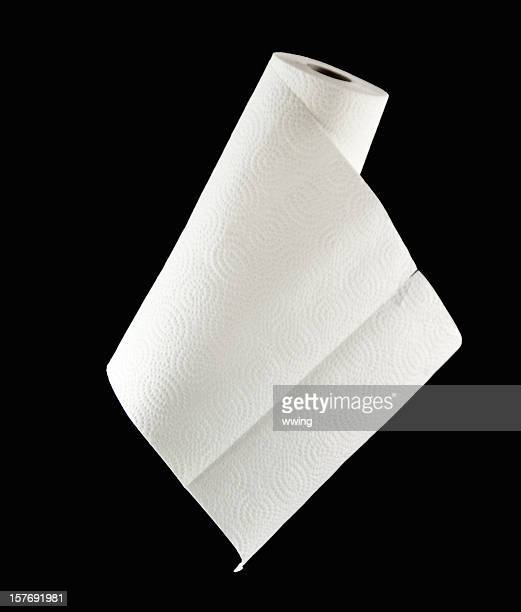 Roll of Paper Towels on Black