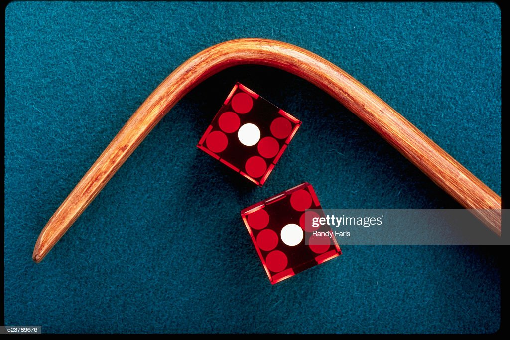 Roll Of Snake Eyes In Craps Stock Photo Getty Images