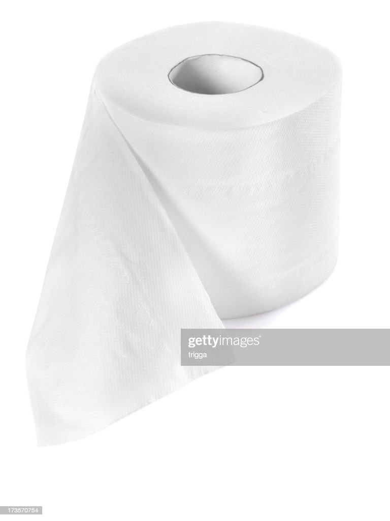 Roll of toilet paper : Stock Photo