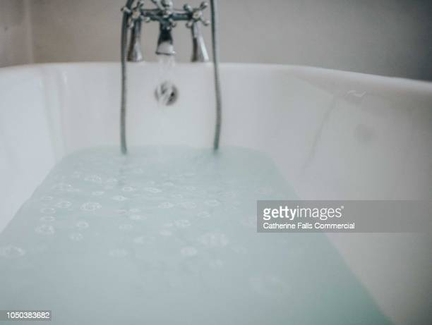 roll top bath - bathtub stock pictures, royalty-free photos & images