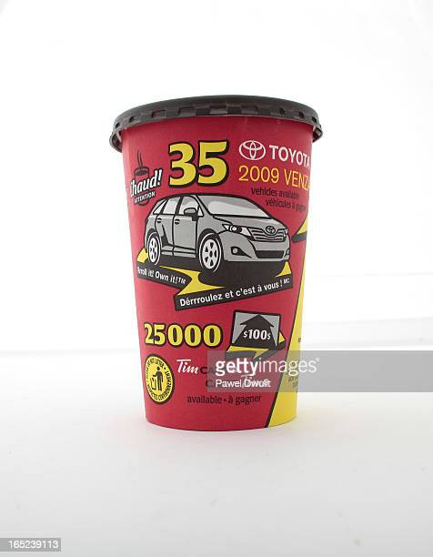 Roll Up The Rim Tim Horton's Coffe Cup March 11th 2009 Toronto Star/Pawel Dwulit