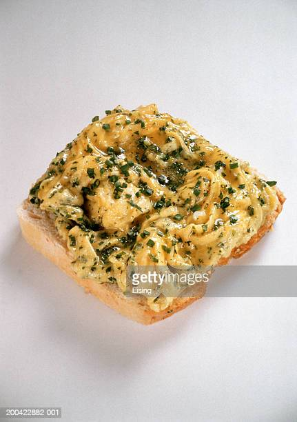Roll with Herb Scrambled Egg