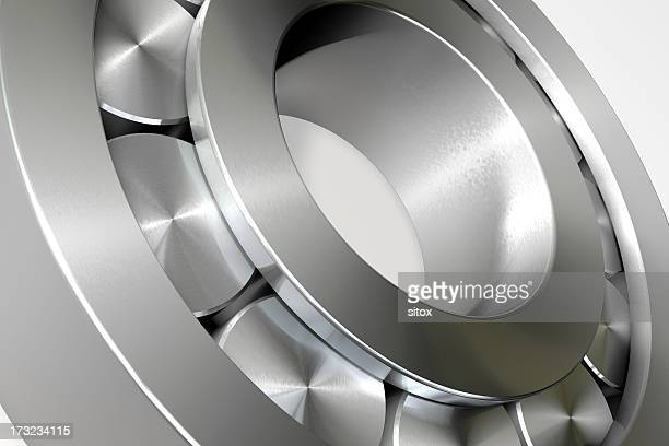 Rollbearing Close-up 3D Render