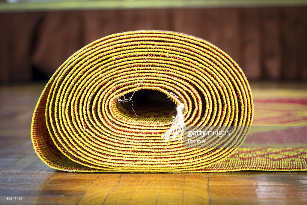 Rolled mat. : Stock Photo