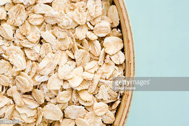 rolled oats - oatmeal stock pictures, royalty-free photos & images