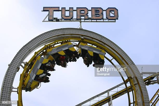 Roller coaster at Brighton pier