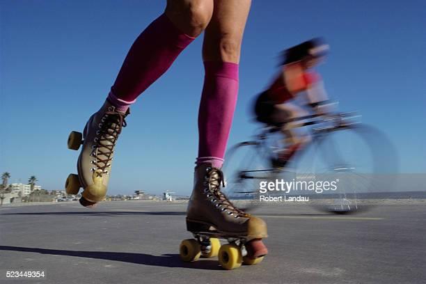 Roller Skating on Venice Beach