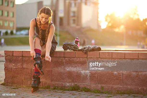 Roller skating preparation