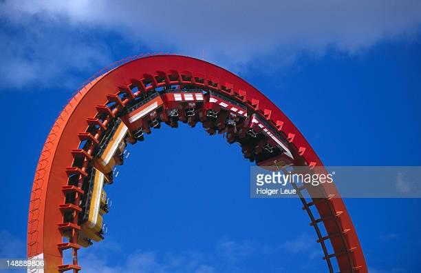 Rollercoaster at Marine World.