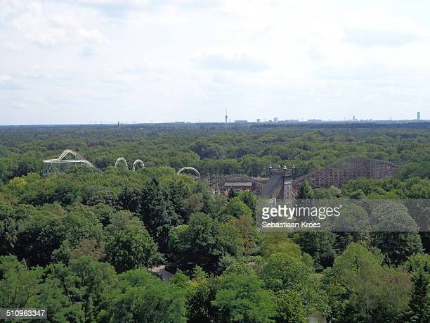 Rollercoasters in the woods, Efteling, Netherlands