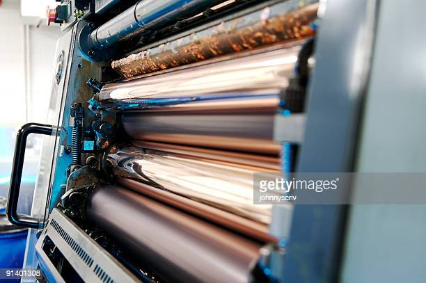 rollers... - heidelberg stock photos and pictures