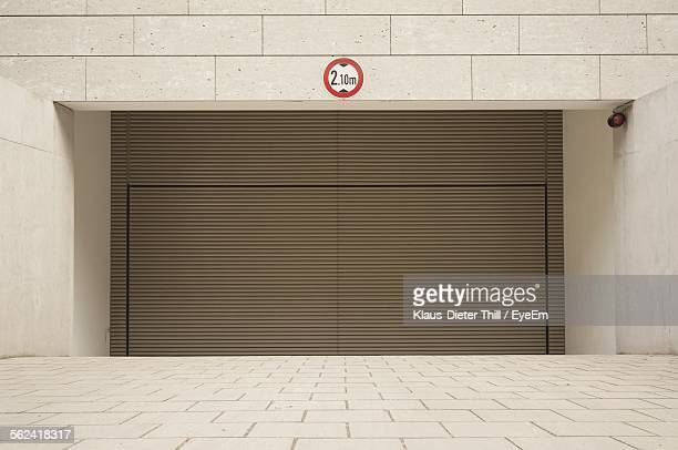 Rolling Garage Door Stock Photos And Pictures Getty Images