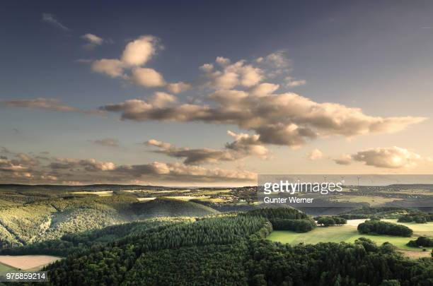 Rolling green landscape, Germany