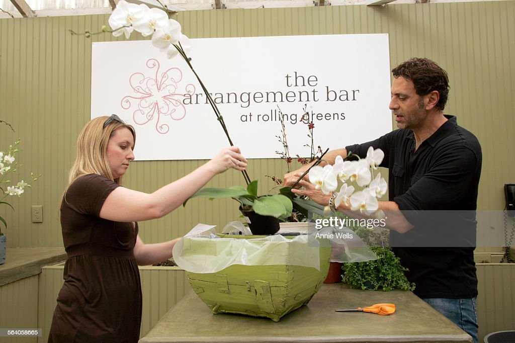 Rolling Greens nursery owner Greg Salmeri and store Manager