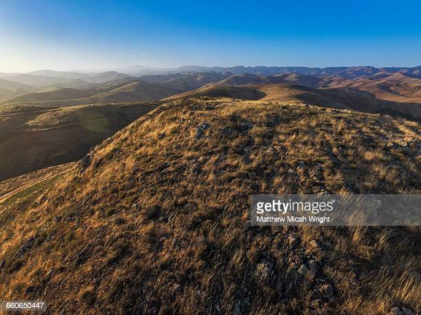 rolling hills around cayucos. - cayucos stock pictures, royalty-free photos & images