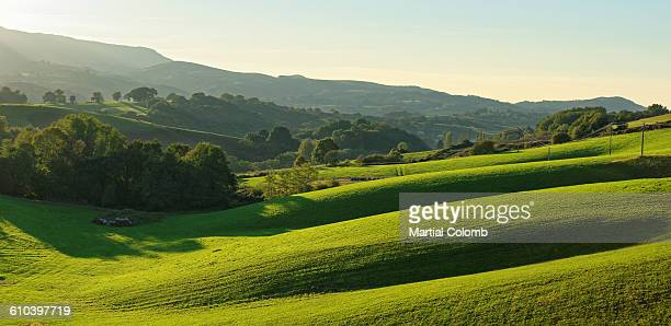 rolling hills in BASQUE country