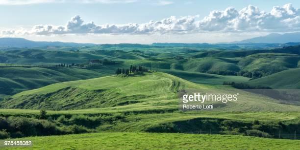 Rolling landscape, Tuscany, Italy