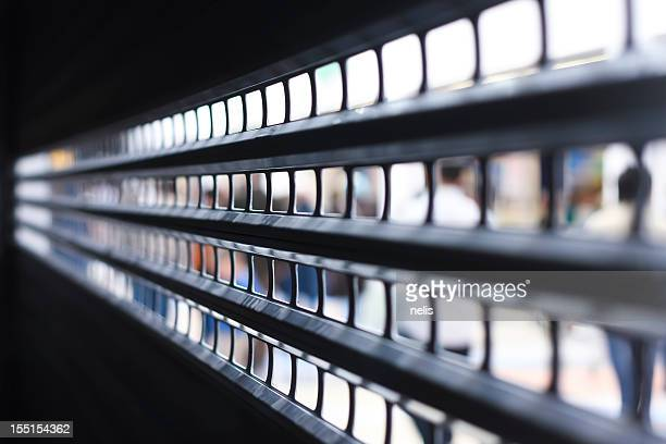 rolling shutter - industrial door stock pictures, royalty-free photos & images