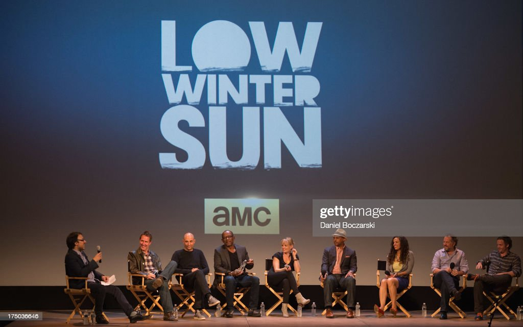 Cast Of AMC's 'Low Winter Sun' Q&A With Art House Convergence : News Photo