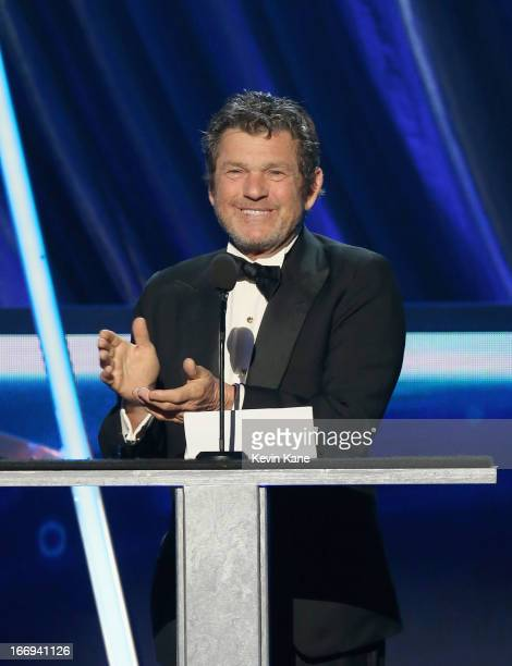 Rolling Stone publisher Jann Wenner speaks onstage during the 28th Annual Rock and Roll Hall of Fame Induction Ceremony at Nokia Theatre L.A. Live on...