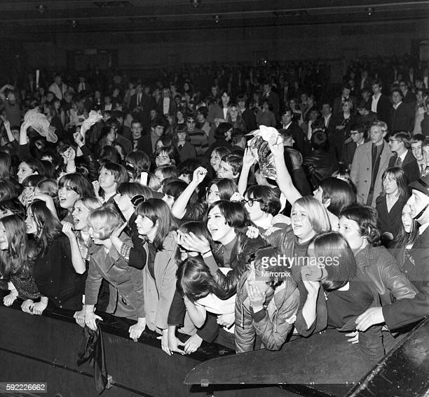 Rolling Stones fans at Royal Albert Hall, London. 23 September 1966 during their tour with Ike & Tina Turner