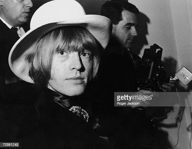 Rolling Stones guitarist Brian Jones at a London photocall January 1967