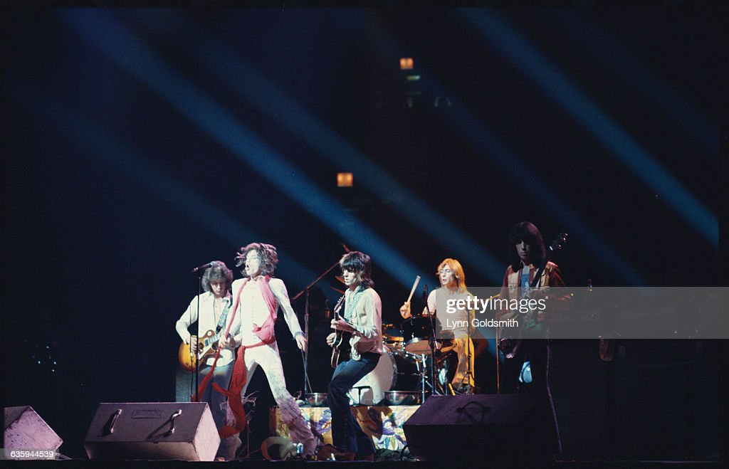 The Rolling Stones Performing : News Photo