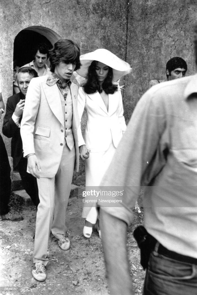 Jagger Weds : News Photo
