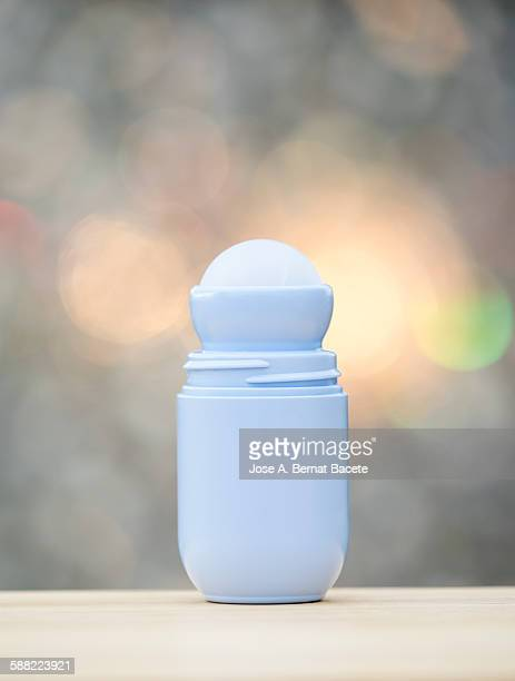 Roll-on deodorant, close up