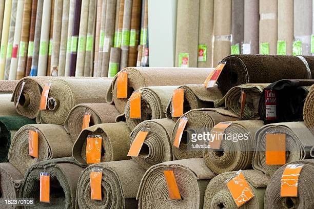 Rolls of Carpeting
