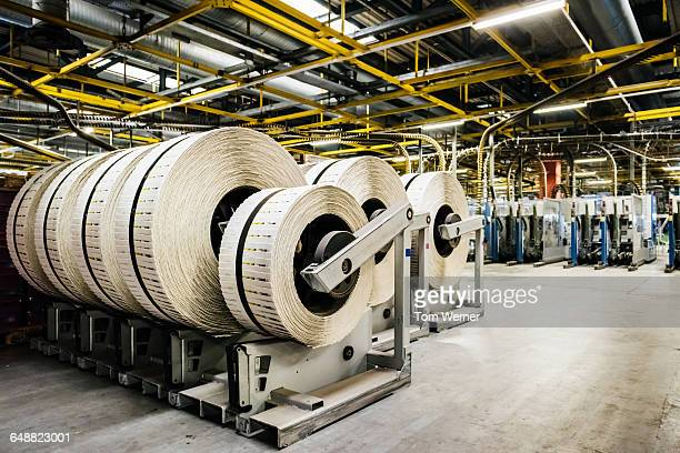 rolls of printed and packed newspapers - big tom stock pictures, royalty-free photos & images