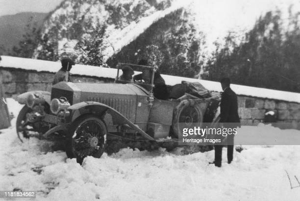Rolls Royce Alpine Eagle on Alpine trials in Austra Creator Unknown