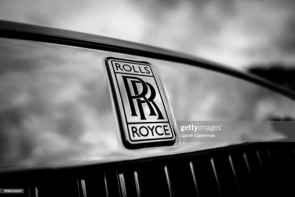 A Rolls Royce Badge During The 71st Annual Cannes Film Festival At