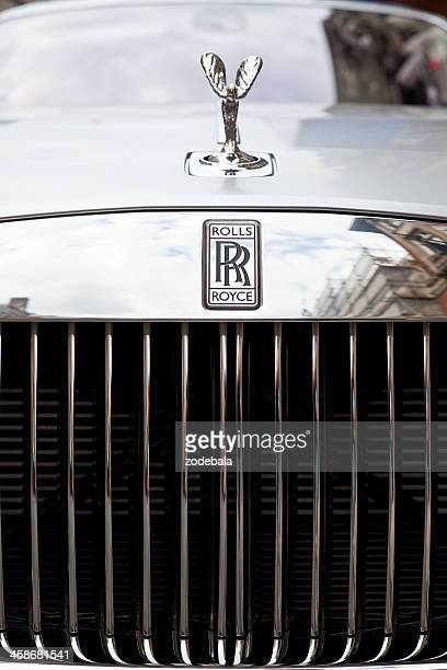 rolls royce ghost luxury car - rolls royce stock photos and pictures