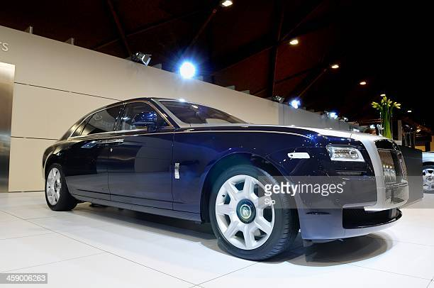 rolls royce ghost - rolls royce stock photos and pictures
