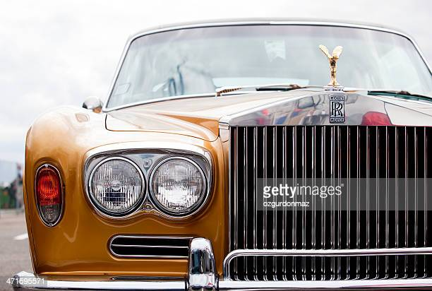 rolls royce luxury car - rolls royce stock photos and pictures