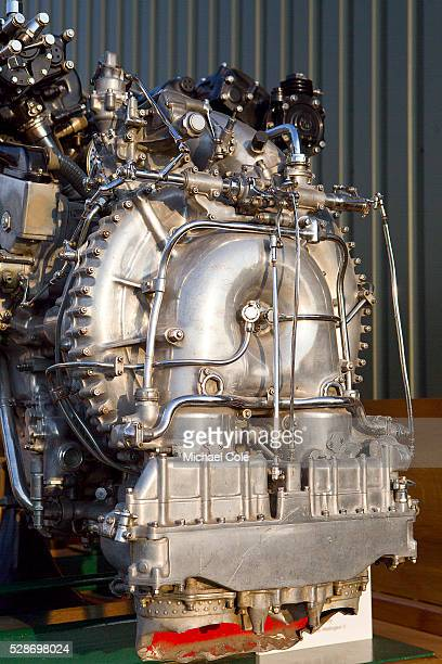 Rolls Royce Merlin X aero engine at the Goodwood Revival Meeting 12th Sept 2014