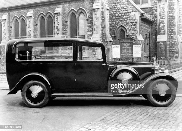 Rolls Royce Phantom 1 hearse. Creator: Unknown.