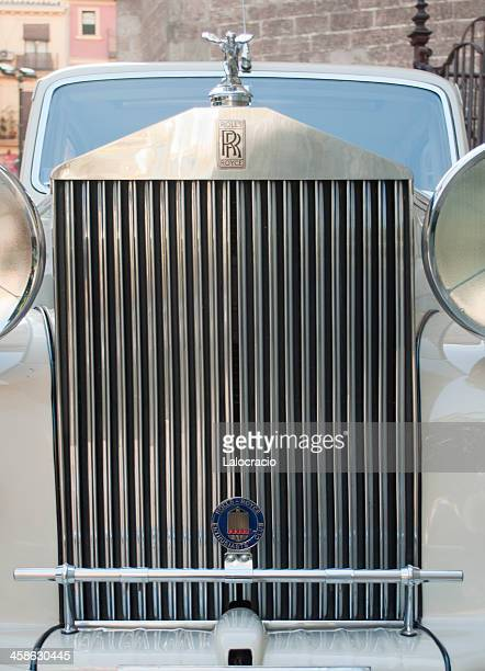 rolls royce - hood ornament stock pictures, royalty-free photos & images