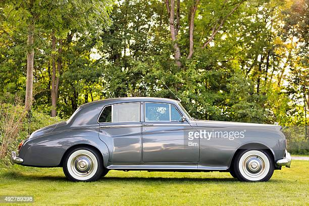 rolls royce silver cloud classic luxury car - rolls royce stock photos and pictures