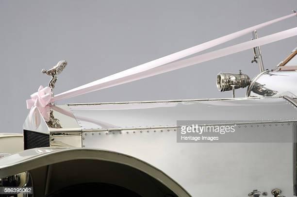 Rolls Royce Silver Ghost Wedding Car detail Artist Unknown