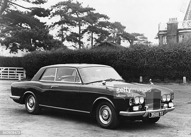 """Rolls Royce """"Silver Shadow"""" Coupé- veröff. BM,"""