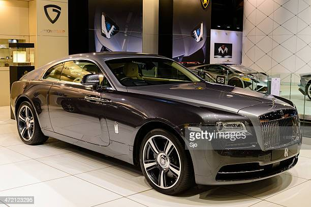 rolls royce wraith - rolls royce stock photos and pictures